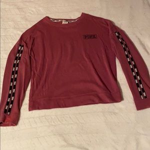 Pink light sweatshirt